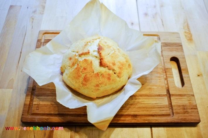 طرز تهیه نان ساندویچی