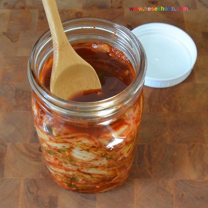 طرز تهیه کیمچی کره ای