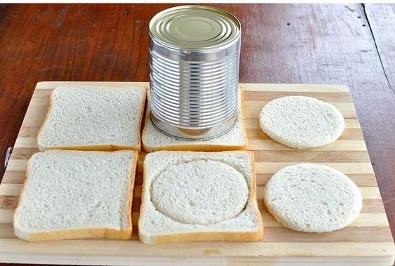 قالب زدن نان با رب
