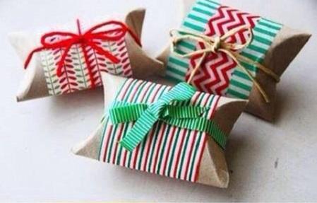 جعبه کادو با رول دستمال