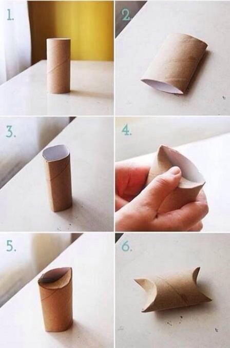 جعبه کادو با رول دستمال کاغذی