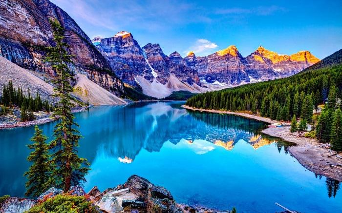 دریاچه لوییز کانادا