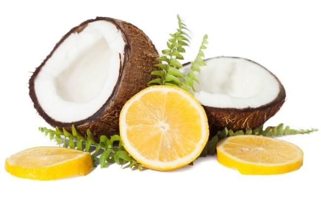 روغن نارگیل و لیمو