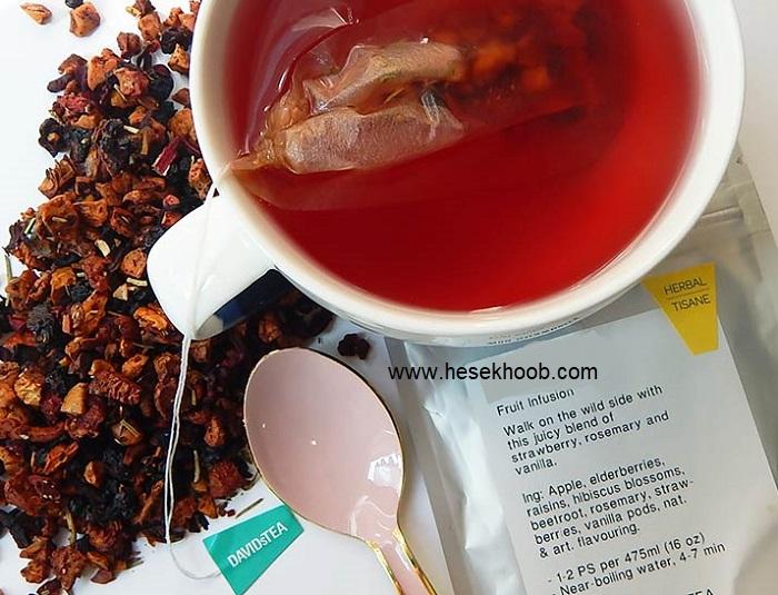 چای توت فرنگی نیوشا