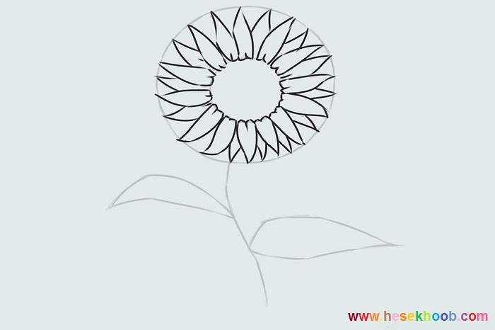 طراحی گل