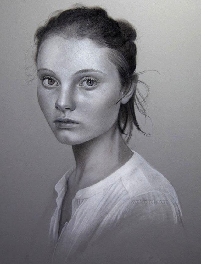 طرح نقاشی چهره