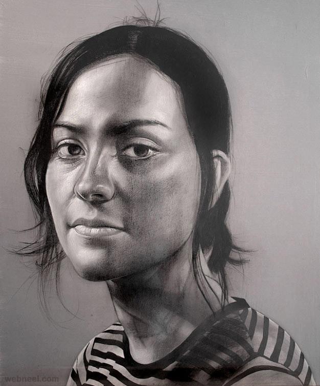 طراحی چهره زن