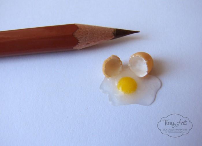 تخم مرغ مینیاتوری