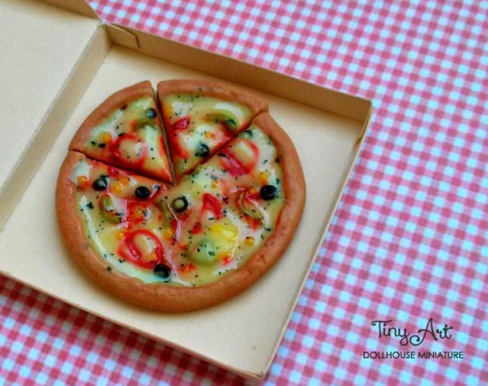ماکت پیتزا