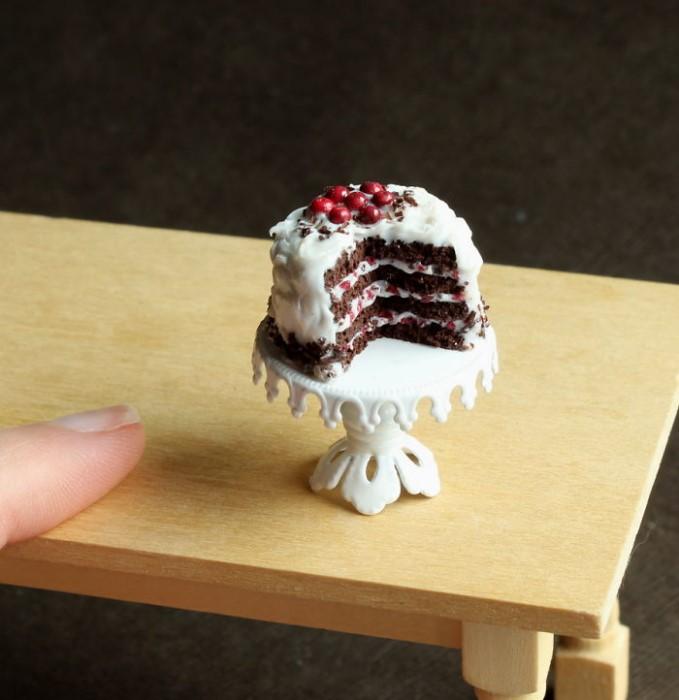 کیک تولد مینیاتوری