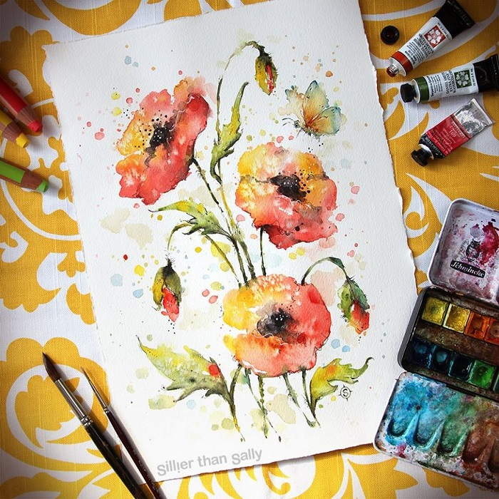 نقاشی با آبرگ