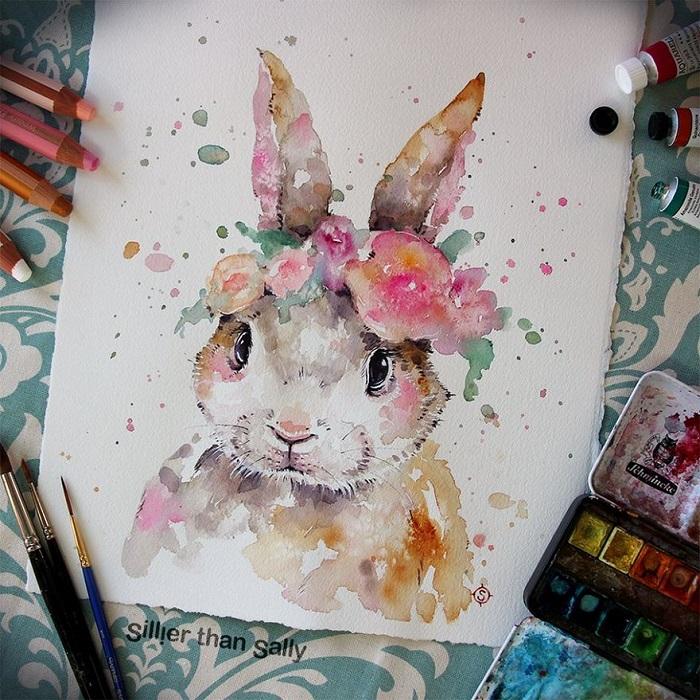 نقاشی آبرنگ