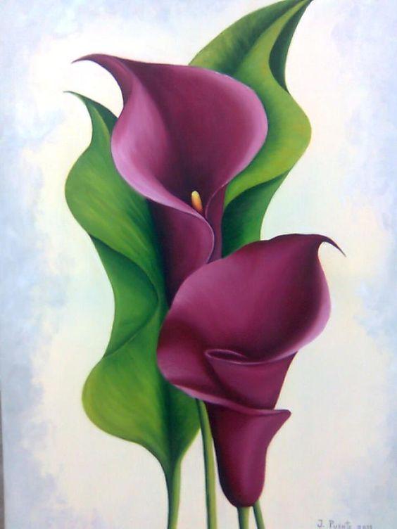 نقاشی ساده گل